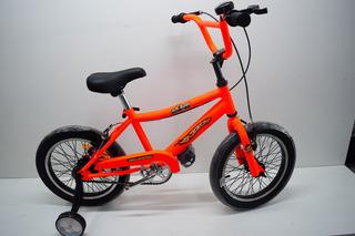 Bicicleta Rodado 16 Bruzzoni 48 Rayos Super Cross