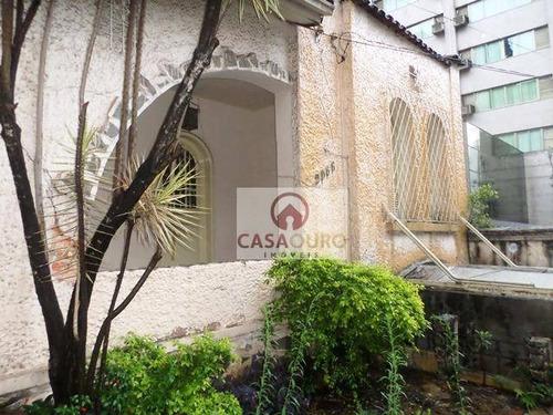 Casa Para Fins Comerciais, A Venda, Lourdes, Belo Horizonte/mg - Ca0068