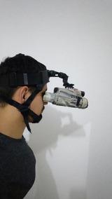 Binóculo Visão Noturna 5x40 Suporte Cabeça E Trilho Carabina