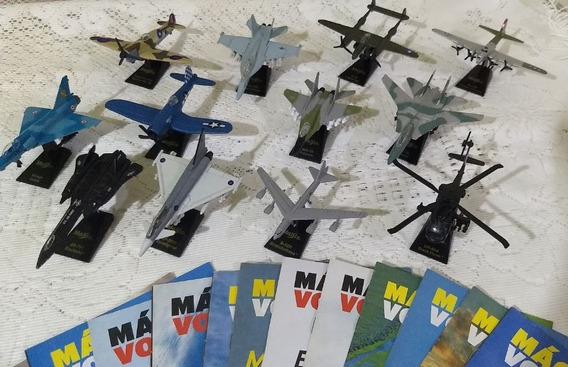 Máquinas Voadoras! Jornal Extra! 12 Aeronaves! Com Encarte.