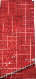 Reja Malla Para Exhibir De Alambre Color Blanca 80cmx1.80 M