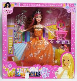 Muñeca Girl Wild Focus Juguete De Niña Tipo Barbie 30 Cm