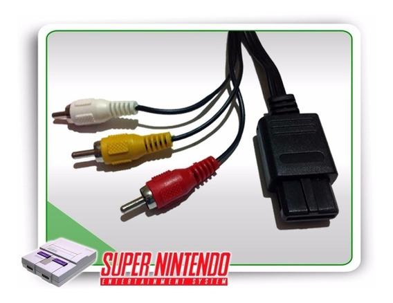 10 Cabo Av Super Nintendo Snes Game Cube Nintendo 64 Famicom