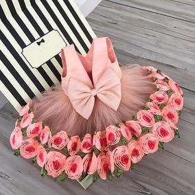 Vestido Infantil Festa Menina Princesa Jardim Encantado Tema