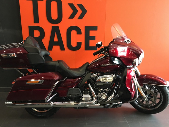 Harley Davidson - Electra Glide Ultra Limited - Vermelha