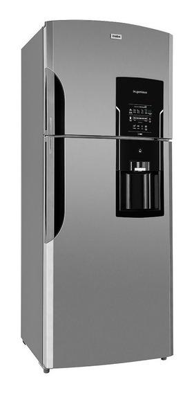 Refrigerador Mabe RMS400IBMR stainless steel con freezer 400L