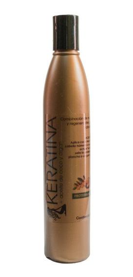 Keratina Con Aceite De Coco Y Argán |100% Orgánica |