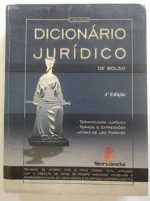 Dicionário Jurídico:de Bolso:celso Brasil:quarta Edição