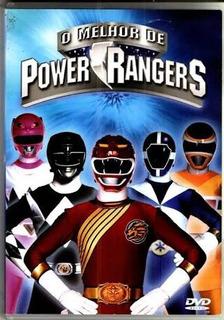 Dvd Original O Melhor De Power Rangers - Em Perfeito Estado