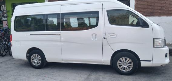 Nissan Urvan Diésel 2015 La Mas Equipada 15 Pasajeros