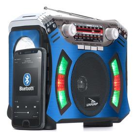 Caixa Caixinha De Som Bluetooth Portátil Df6 Mp3 Fm Am Retrô