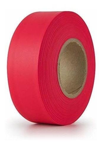 Imagen 1 de 1 de Cinta De Señalizacion Ipg, 1,18  X 50 Yardas, Brillo Rojo