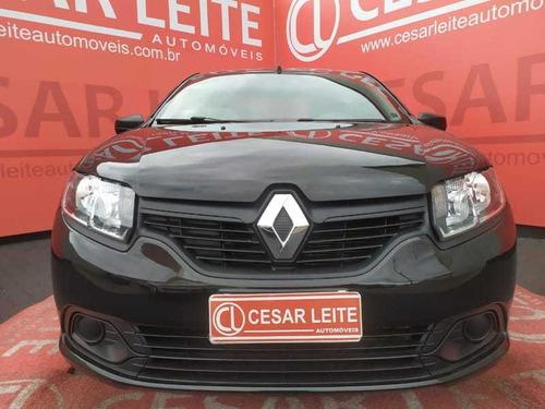 Imagem 1 de 15 de Renault Logan Authentique Flex 1.0 12v 4p