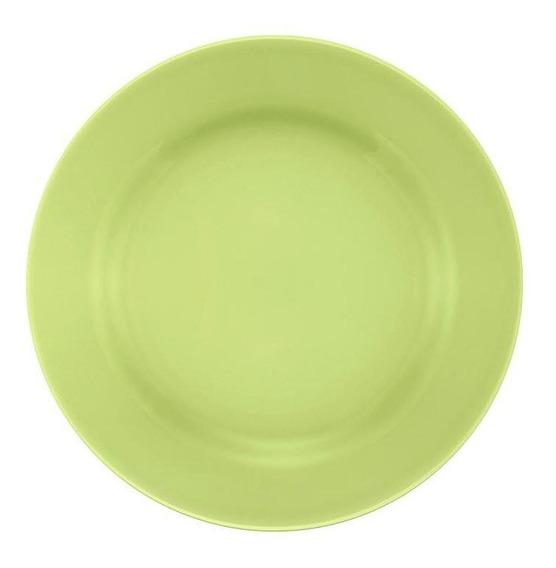 Conjunto De 6 Pratos Sobremesa 19cm Donna Verde