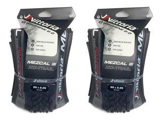 2 Pneus Vittoria Mezcal Xc Trail 29x2.25 Tlr Grafeno 2.0