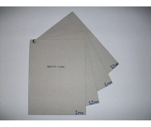 Cartón Gris Extra Liso 70 X 50 1mm.