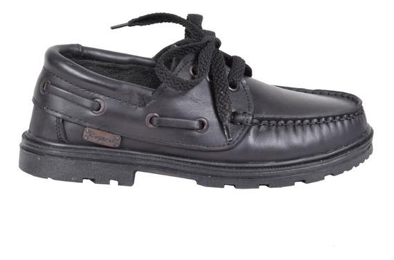 Zapatos Colegiales Mocasin Leñador Escolares Cuero Rigazzio