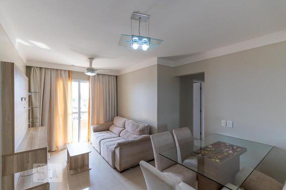 Apartamento No 9º Andar Mobiliado Com 2 Dormitórios E 2 Garagens - Id: 892957619 - 257619