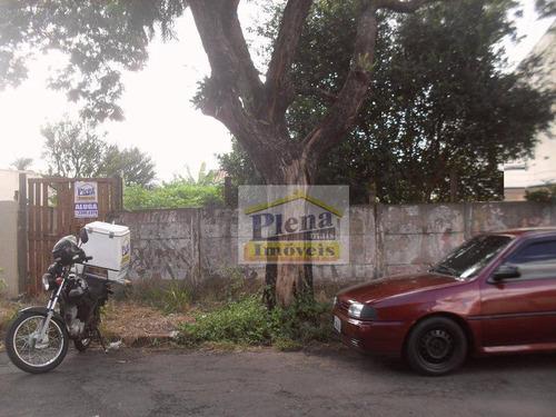 Terreno Comercial Para Locação, Vila Menuzzo, Sumaré. - Te0547