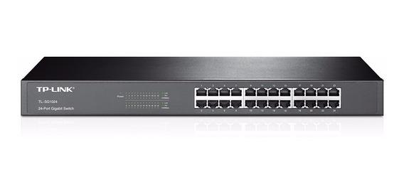 Switch Rack Tp Link Tl-sg1024 Gigabit 24 Puertos - En Tigre