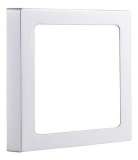 Panel Plafon Led 18w Aplicar Cuadrado