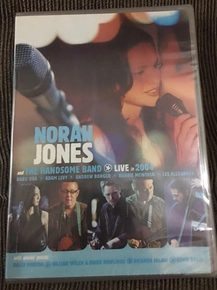 Dvd Norah Jones And The Handsome Band - Live 2004 - Lacr.