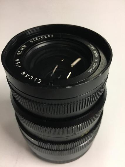 Lente Leica Leitz Elcan 5.6 52mm Rara.