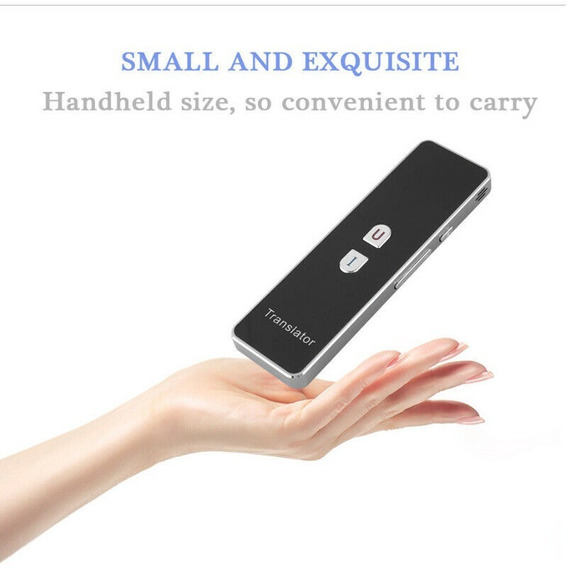 Tradutor Luxo 40 Linguas Tempo Real Bluetooth