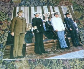 Foto Pinochet Junta De Gobierno 1975 Grande
