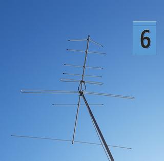 Antena Televisión Exterior Aluminio 8elem+ Cable Coaxial 15m