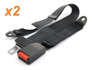 Cinturon De Seguridad Trasero 2 Puntas Homologado Cintura X2
