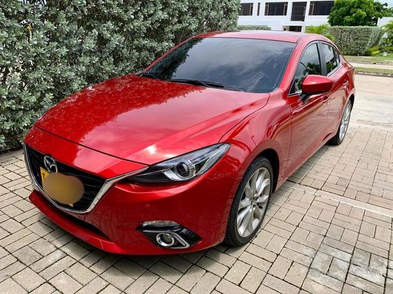 Mazda Mazda 3 Grand Touring 2.0 Aut 2016 Rojo 4 Puertas