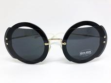 ca5edd2b911f0 Óculos De Sol Acetato De - Óculos De Sol Miu no Mercado Livre Brasil