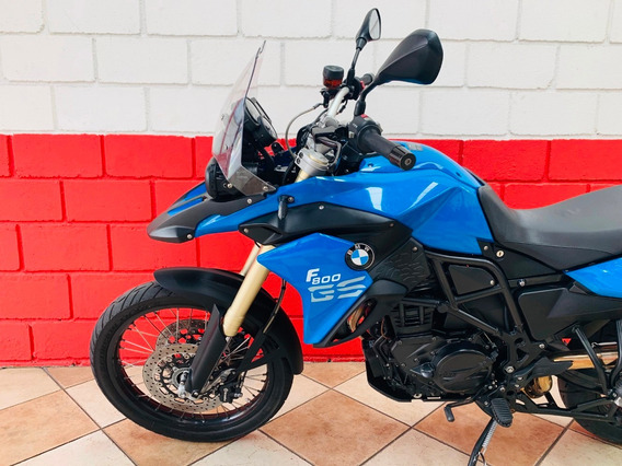 Bmw F800 Gs - 2014 - Azul - Financiamos - Km 31.000