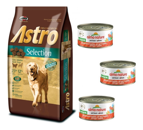 Imagen 1 de 1 de Alimento Astro Perro Adulto 15+2kg Free+envío Free+obsequio