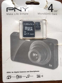Cartão De Memórias Microsdhc 4 Gb
