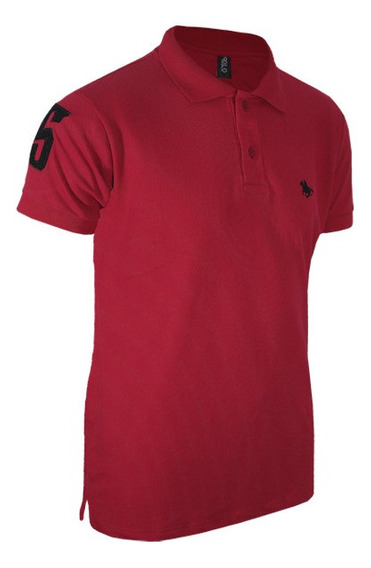Camisa Polo Rg518 Bordada Básica - Para Todo O Brasil