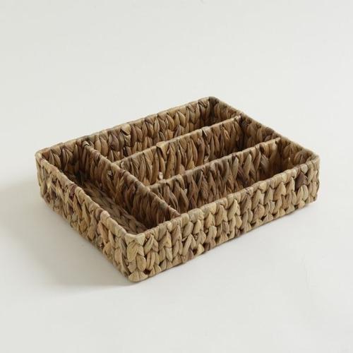 Cubiertero De Bambu 4 Compartimentos - Maestro De Cocina