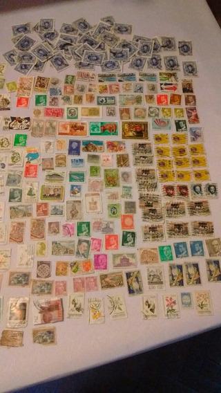 284 Estampillas Selladas, Coleccionistas O Decoración.