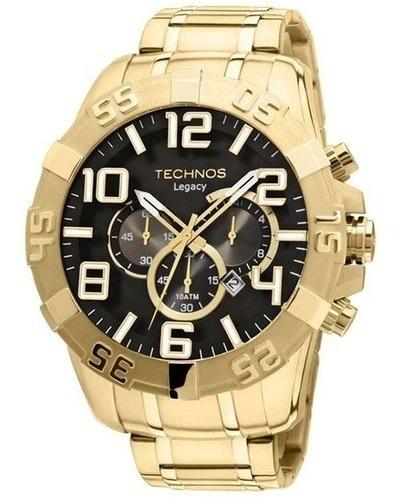 Relógio Technos Legacy Cronog Ref. Os20im/4p Classic