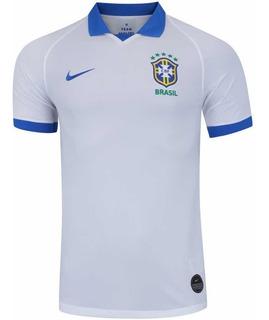 Nova Camisa Seleção Brasileira Copa América Branca 2019 !!!