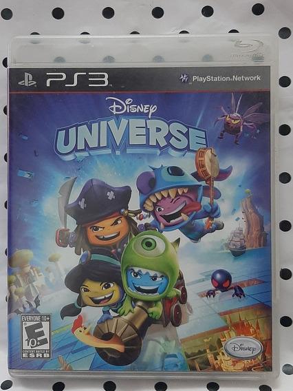 Jogo Ps3 Disney Universe Mídia Física Original