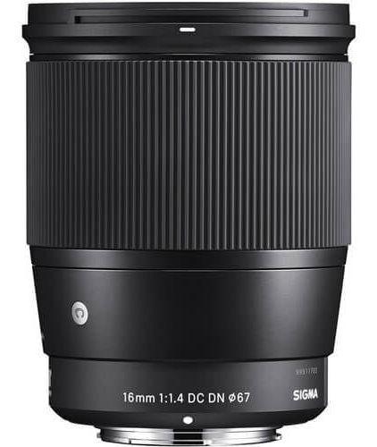 Imagem 1 de 5 de Lente Sigma 16mm F/1.4 Dc Dn Contemporânea Sony E-mount