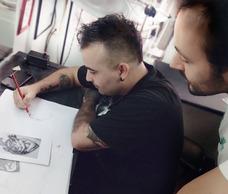 Curso De Dibujo Direccionado Al Tatuaje-tattoo-tatuar.