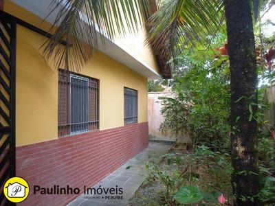 Casa Perto Do Centro Da Cidade E Da Praia Com Espaço Para Piscina A Venda Na Cidade De Peruíbe. - Ca02609 - 4577865