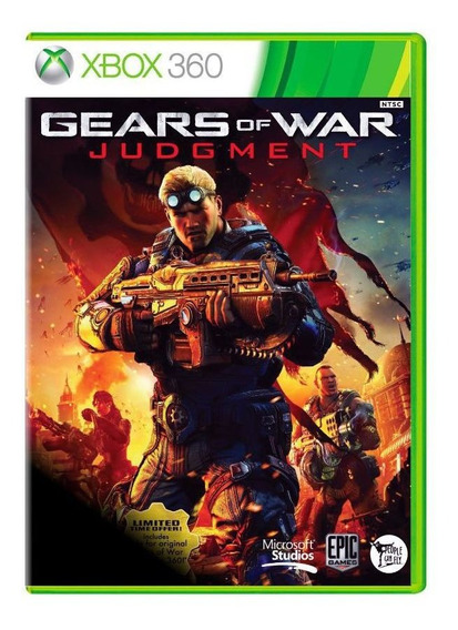 Jogo Gears Of War Judgement  - Xbox 360