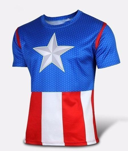 Camiseta Capitão América Captain America Avengers Vingadores