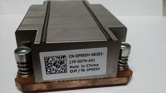 Dissipador Dell Poweredge M610 Pn 0p985h