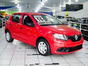 Renault Sandero 2016 1.0 16v Authentique Plus Hi-flex 5p