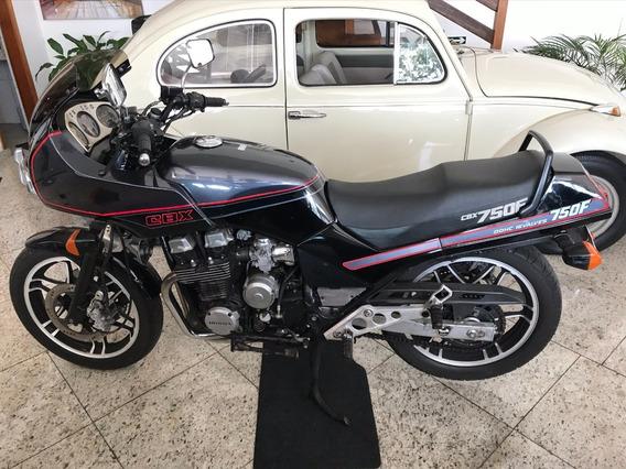 Honda Cbx 750f Magia Negra Gasolina Preta 1988